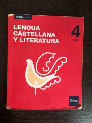 Libro Lengua Castellana Y Literatura 4º ESO