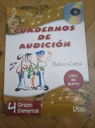 Cuadernos de Audición+ CD