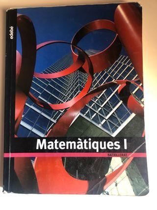 Libro de matemáticas Batxillerat