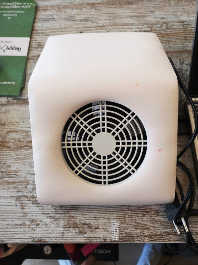 aspirador de polvo manicura