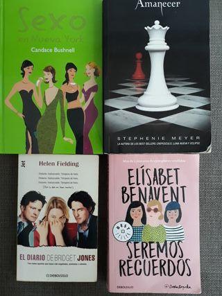 3euros cada libro de novela romantica