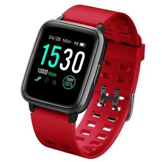 Reloj Inteligente Impermeable IP68 Rojo