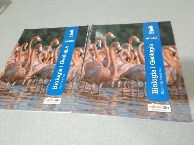 bilogia i geologia (2 volums) ISBN 9788468330823