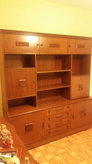 Mueble Librería vintage y gran capacidad
