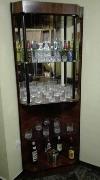 barra de bar para piso o casa.