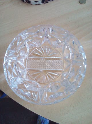 Cristal de bohemia (cenicero)