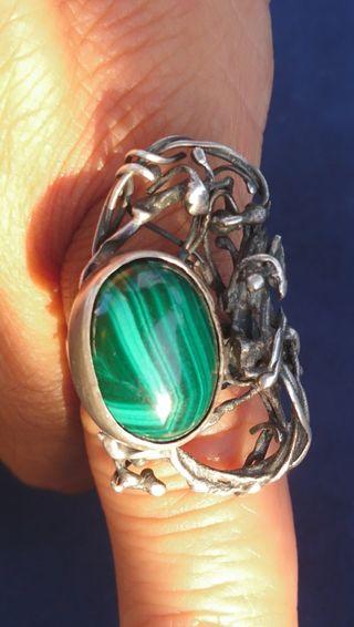 anillo artesanía