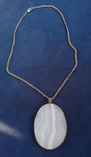collar antiguo plata