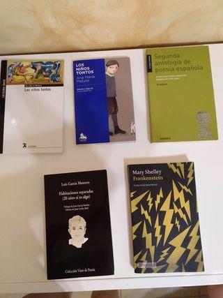 Libros Lectura 1ro Bachillerato