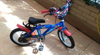 bicicleta niño de blaze