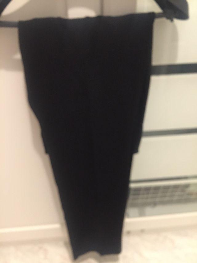 Pantalón negro de vestir kookai