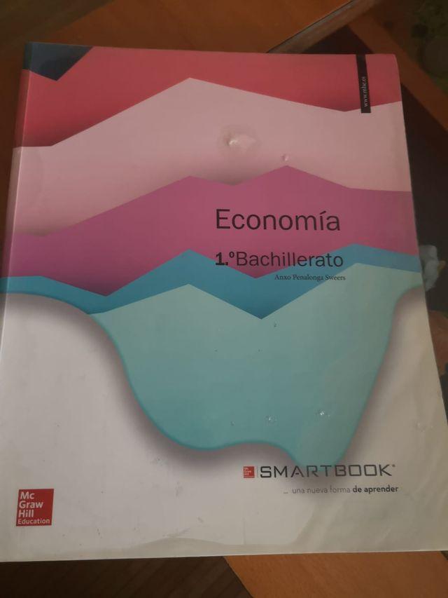 Libro economía 1 bachiller