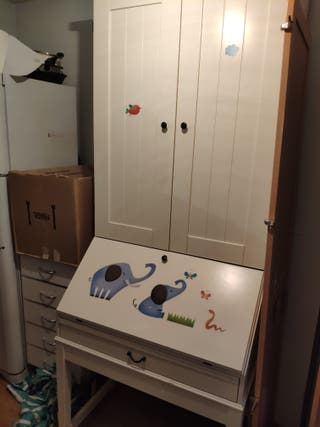 mueble armario escritorio