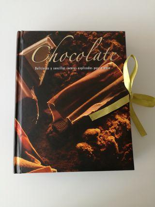 Libro postres chocolate