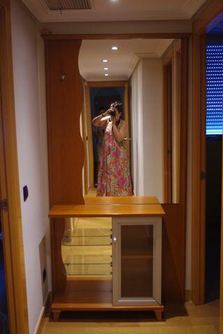 Perchero de recibidor/pasillo con espejo