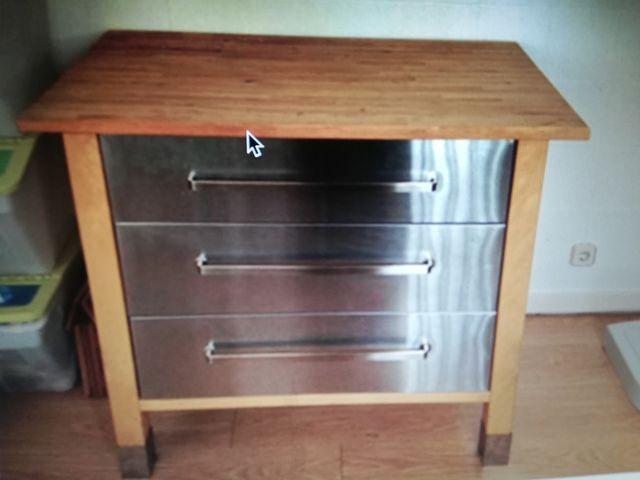 Mueble de cocina IKEA VARDE. de segunda mano por 195 € en Madrid en ...