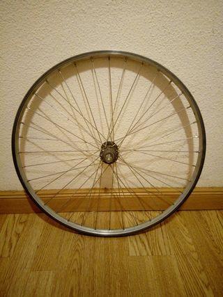Rueda delantera bicicleta 24 pulgadas