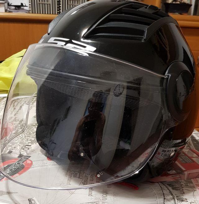 casco moto verano.