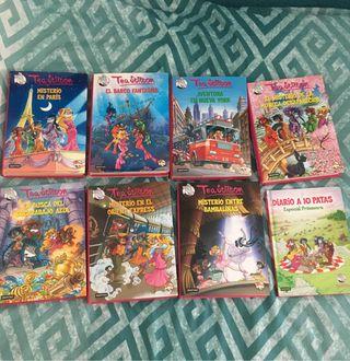 Libros Tea Stilton 4, 5, 6, 10, 11, 13, 14.