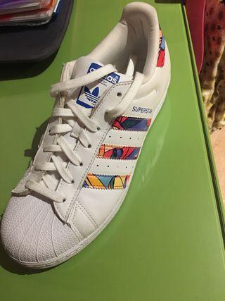 Segunda Mano Superstar Adidas Provincia Zapatillas En De La pSUMzV