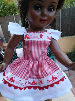 vestido para muñeca Cayetana