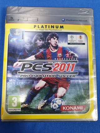 PRO EVOLUTION SOCCER 2011 PRECINTADO PS3