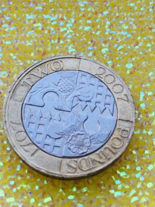 2 pound coin act of union 2007.