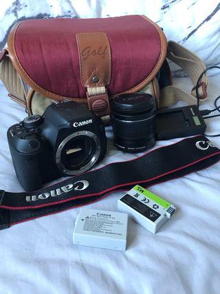 Canon 600D 18-55mm lens kit- plus EXTRAS