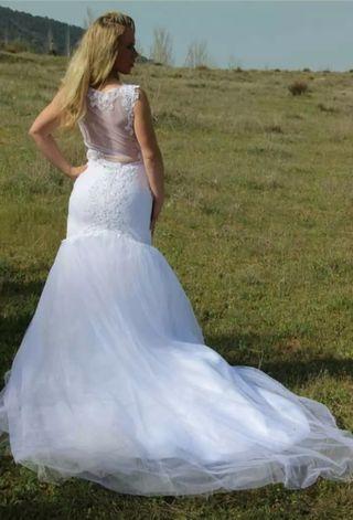 Último Precio ! Vestido Sirena para novia Nuevo