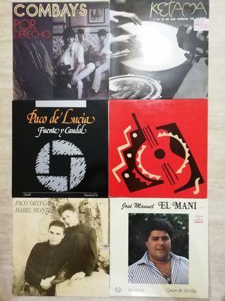 vinilos flamenco, latin pop,...