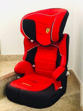 Ferrari silla infantil coche