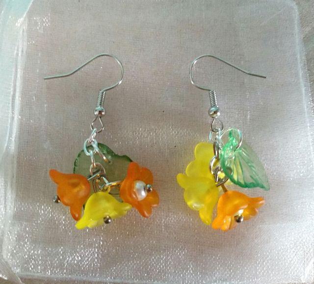 Brand new pierced earrings