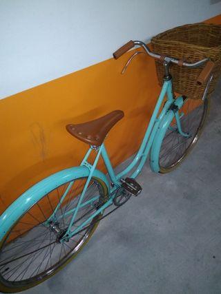 bicicleta mujer antigua