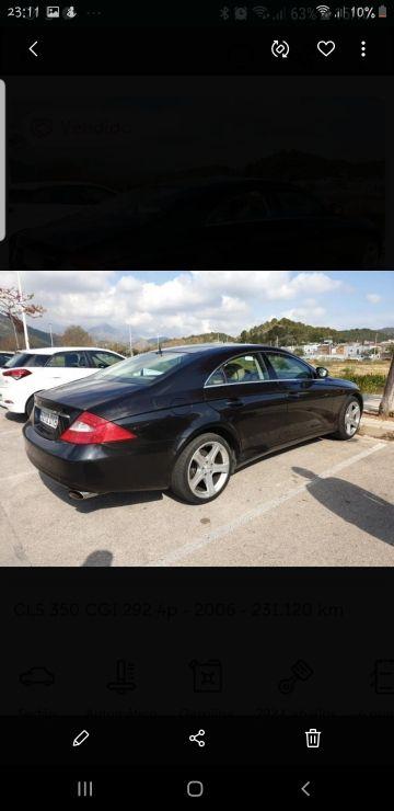 Mercedes-Benz Clase CLS 2007