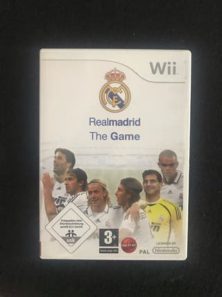 Real madrid wii