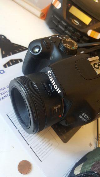 CANON 1200 + CANON 50MM 1'8 negociable