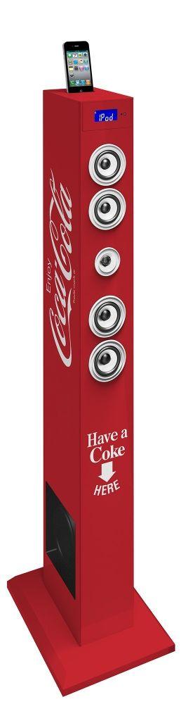 Altavoz Torre Coca-Cola