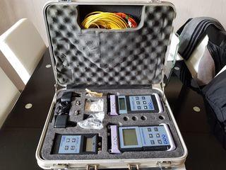 medidor fibra óptica láser