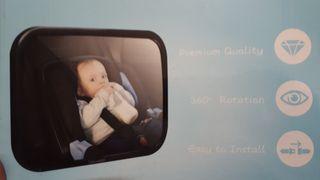 Espejo visor bebe para coche