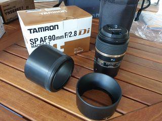 Objetivo Tamron Macro 90mm