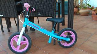 bicicleta infantil con freno