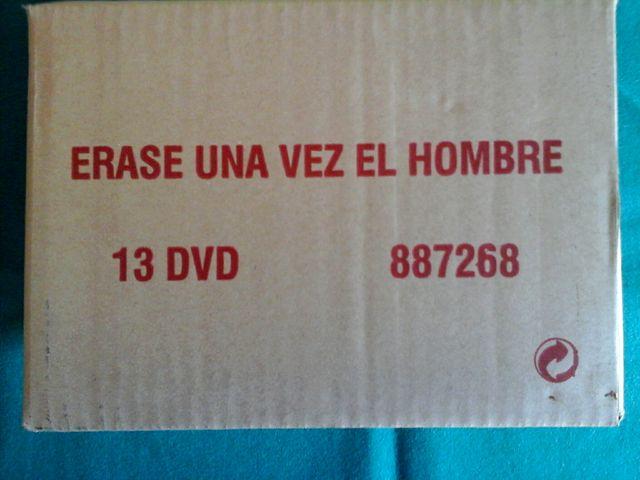 Erase una vez el Hombre DVD.