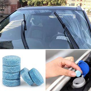 pastillas limpia cristales de coche