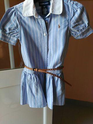vestido niña talla 2 años Ralph Lauren