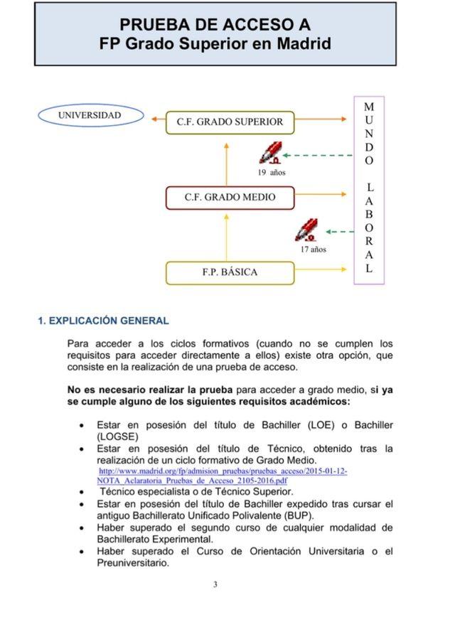 Examenes Grado Superior Comunidad De Madrid De Segunda Mano