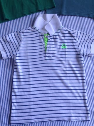 Lote polos-camiseta