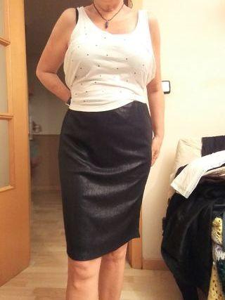 falda fiesta brillante