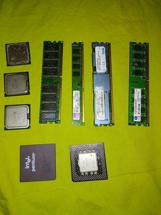 procesadores, memoria ram