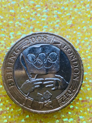2 pound coin Olympic handover ceremony London 2012