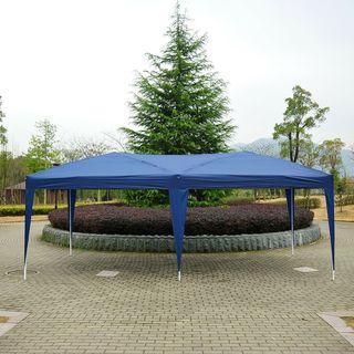Carpa Plegable 6x3m de Jardín Cenador Gazebo para